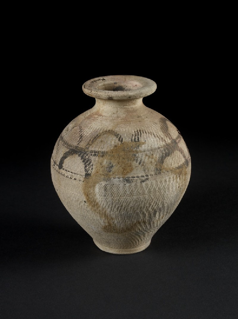 Narrow necked painted jar (AN1887.2803)
