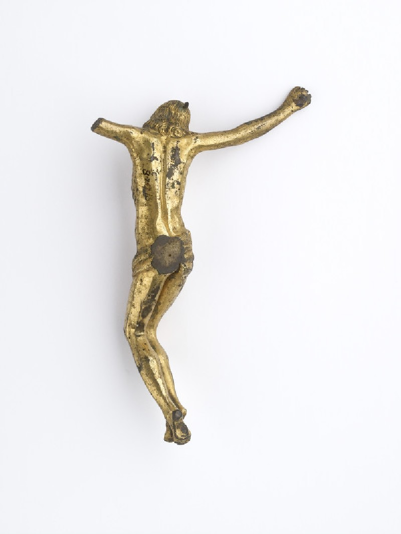 Figure of Christ on the cross from crucifix (AN1887.2809)