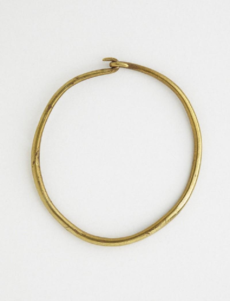 Gold hoop earring (AN1888.1199)