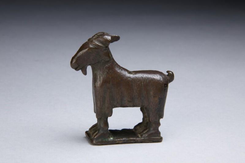Bronze goat figurine (AN1889.770)