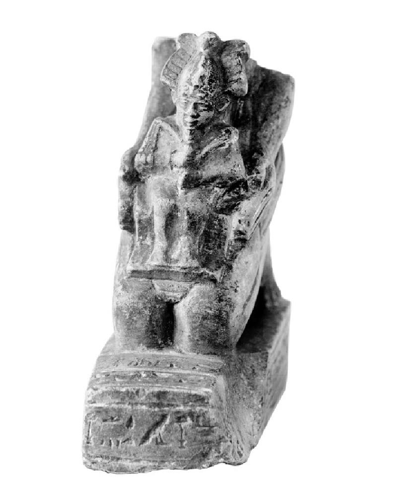 Figure of Duatneter(em)auikhons, Monthly priest of Amun, son of Sa-duatneter