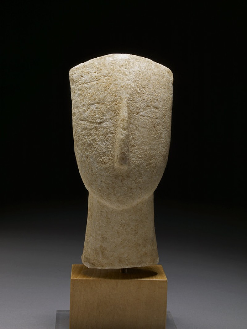 Head of Cycladic figurine (Spedos type)