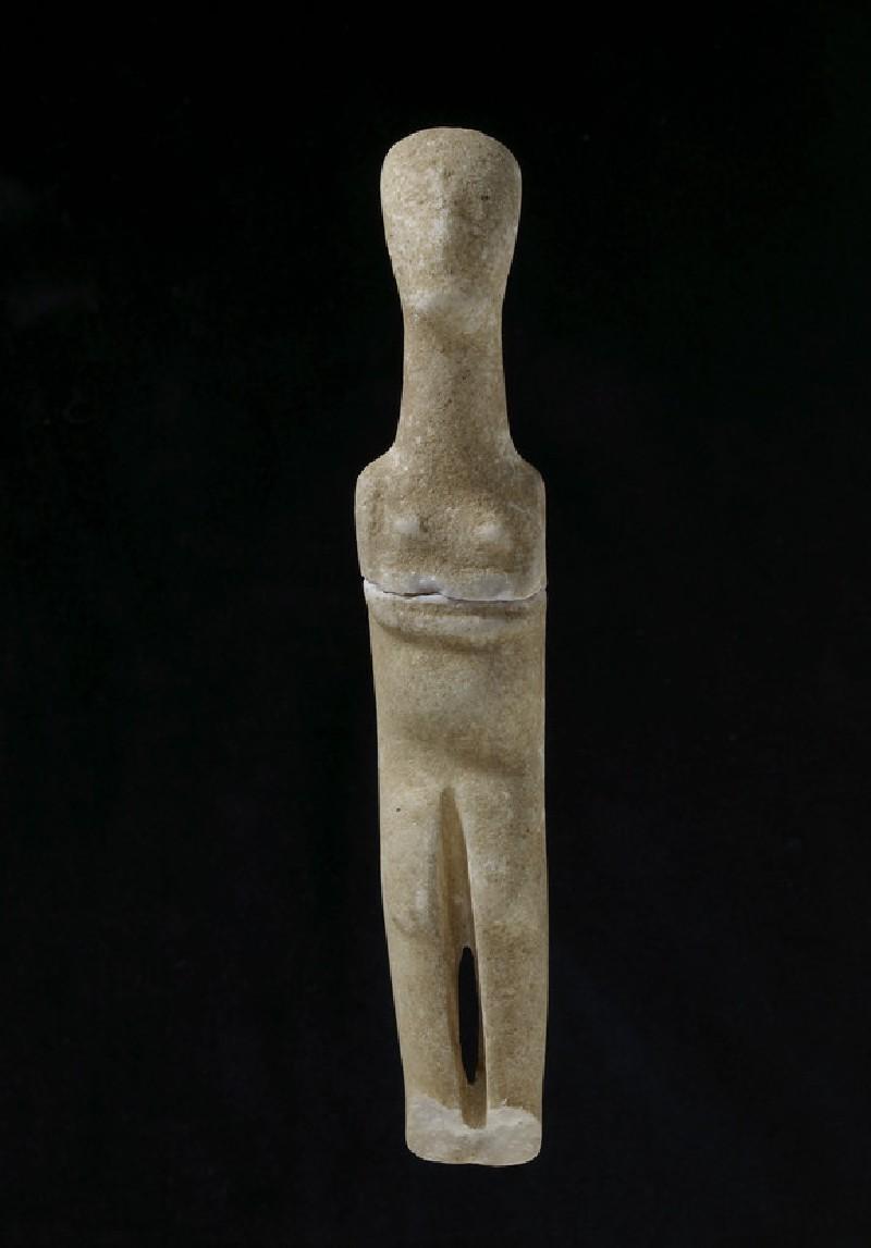 Marble female figurine