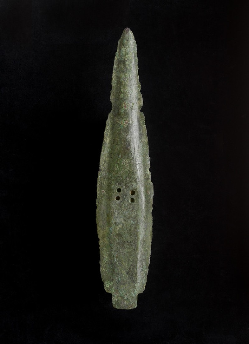 Copper alloy spearhead (AN1896-1908.AE.231)