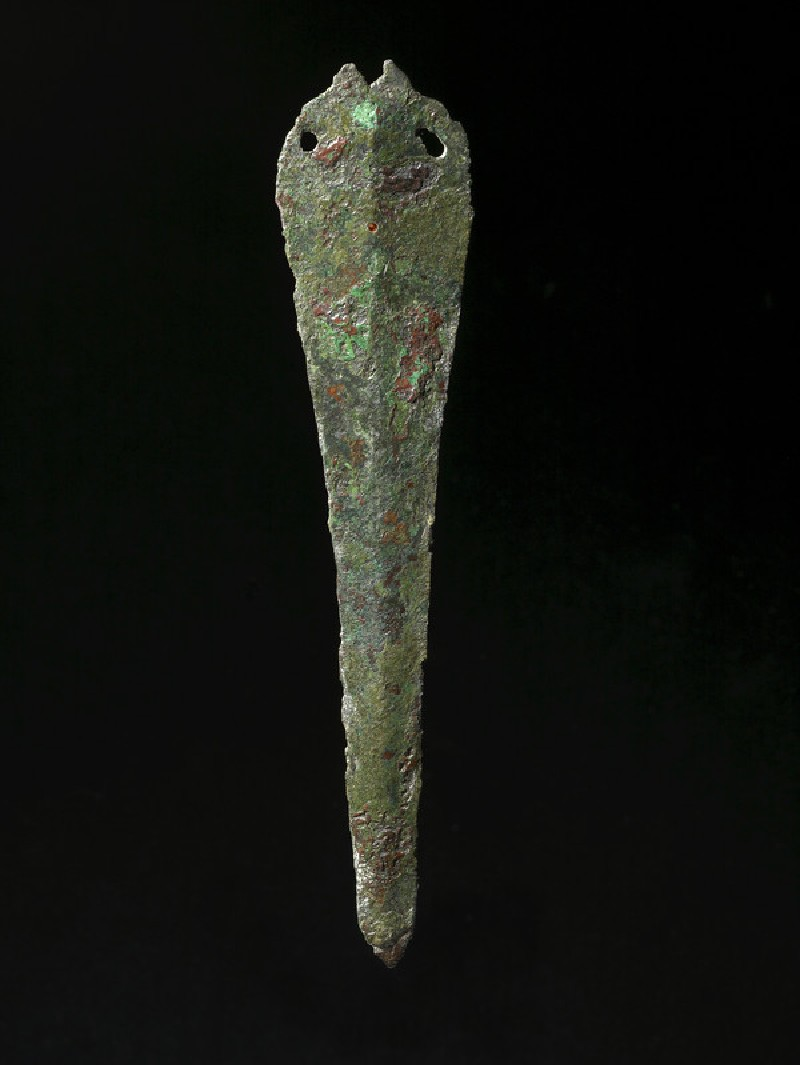 Copper alloy dagger (AN1896-1908.AE.235)