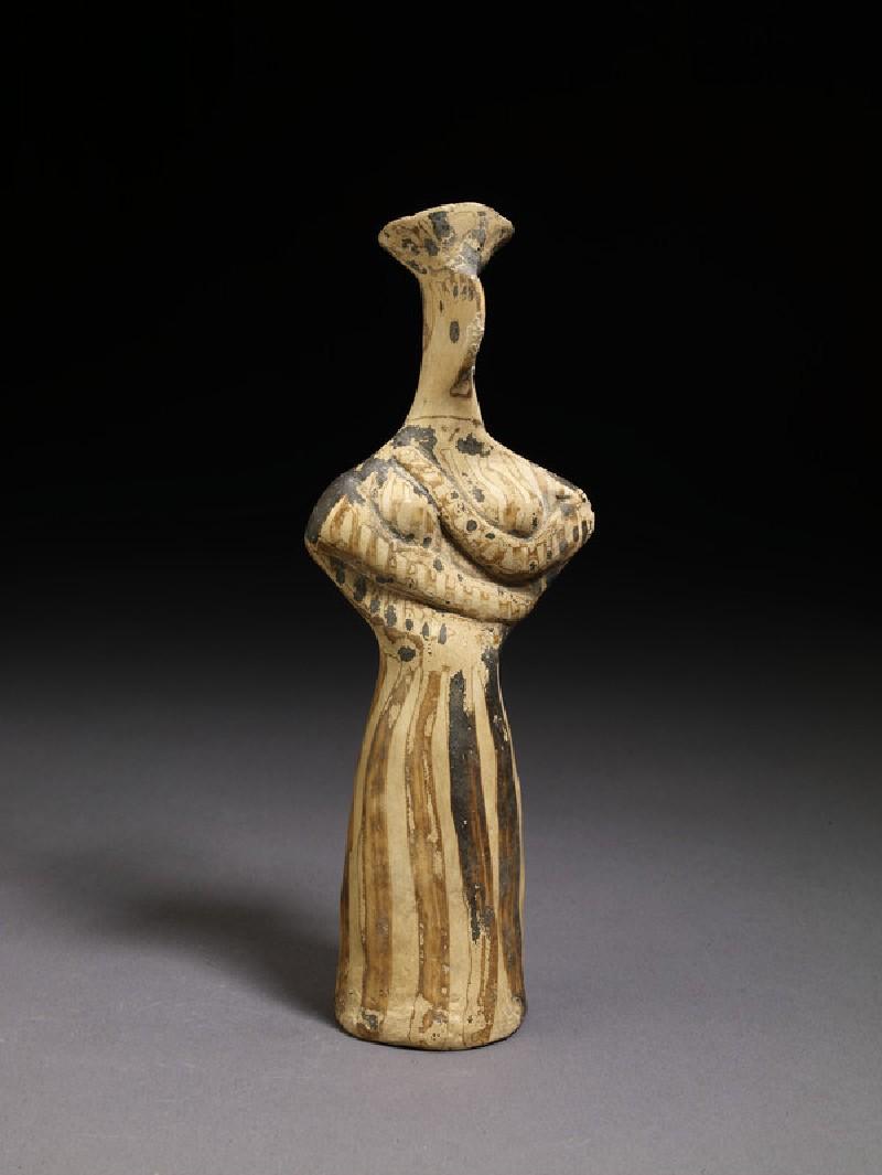 Mycenaean female figurine, transitional style (AN1896-1908.AE.309)