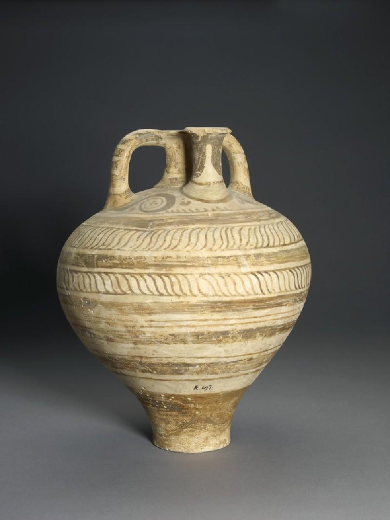 Stirrup-jar