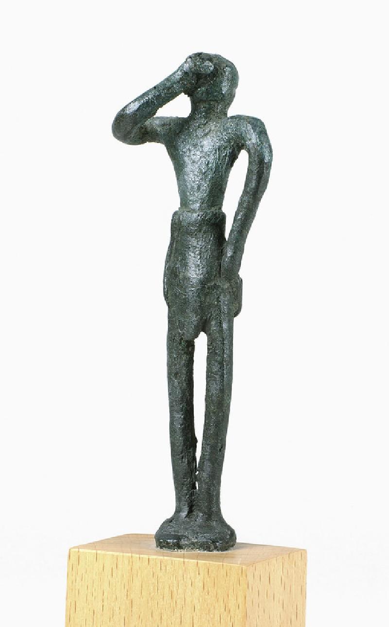 Minoan bronze figurine of male votary (AN1896-1908.AE.595)
