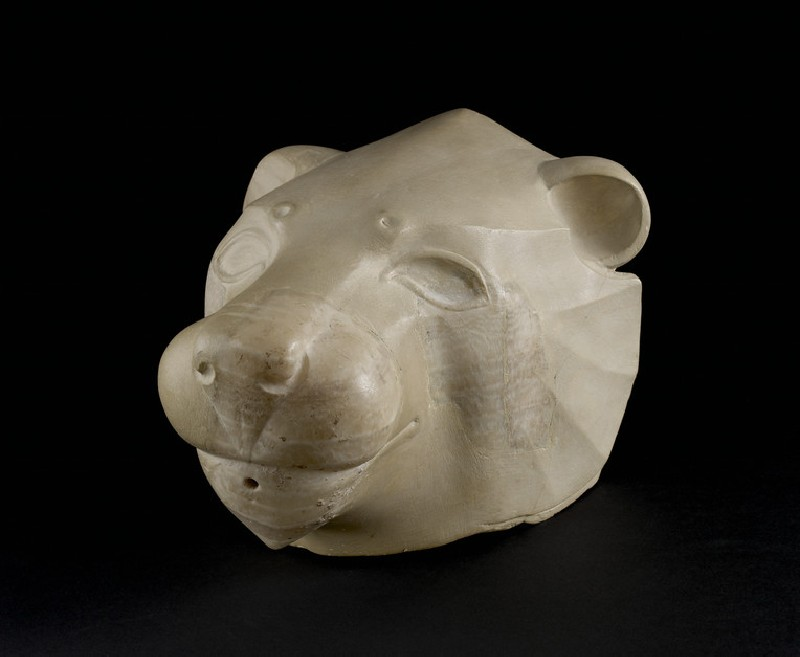 Lion head rhyton (AN1896-1908.AE.784)