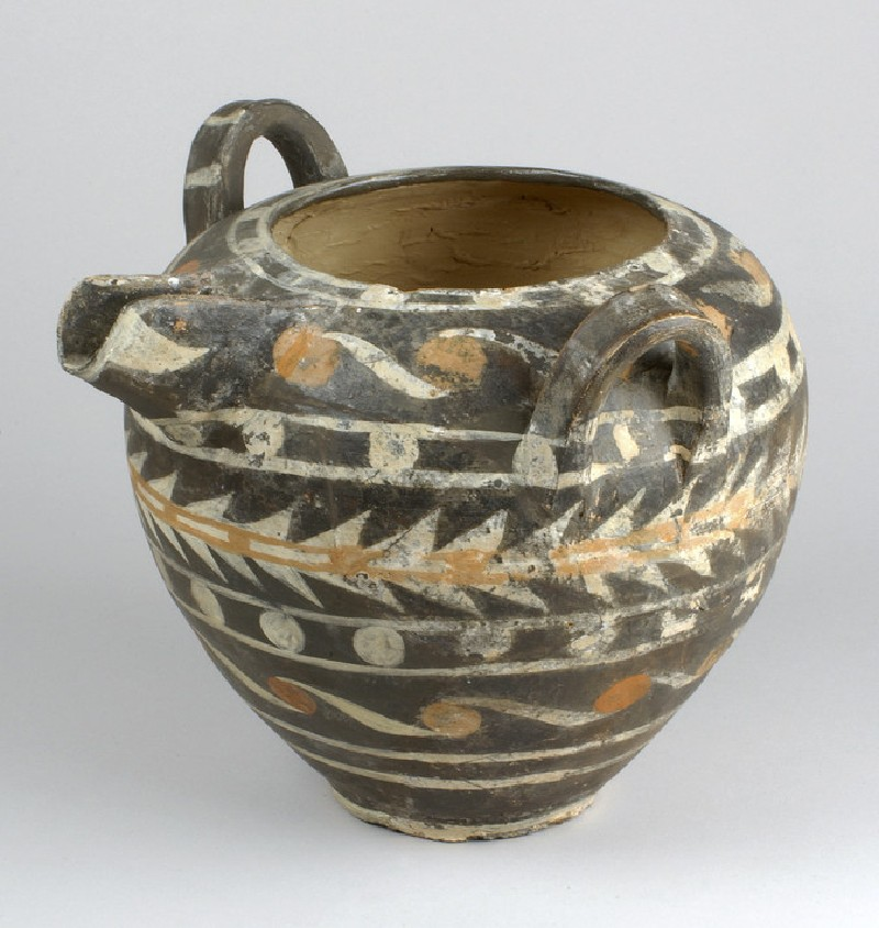 Spouted Kamares ware jar