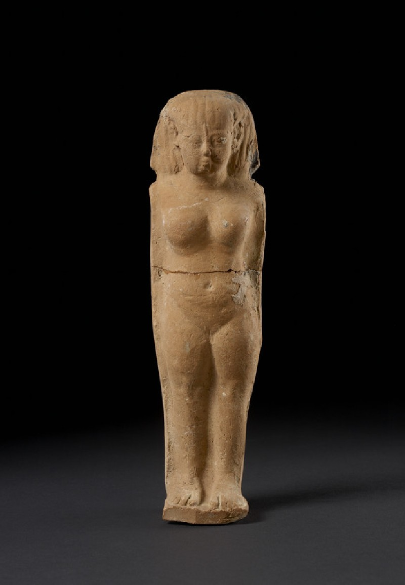 Naked female figurine (Astarte-figurine), Egyptianising style