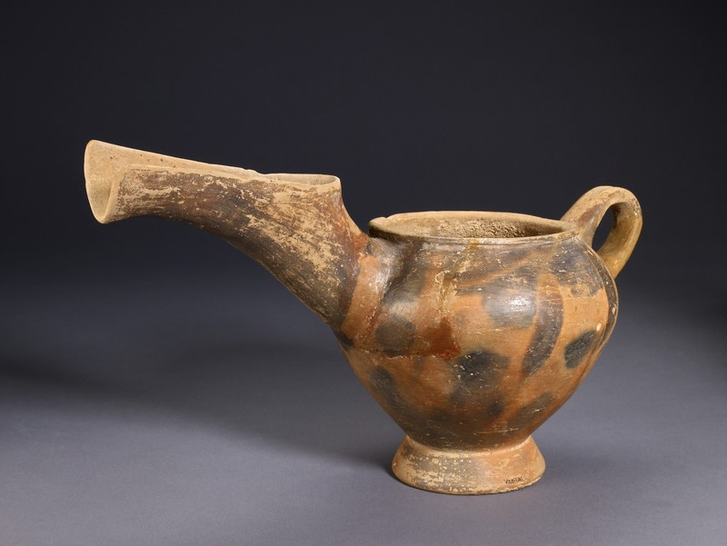 One-handled spouted jar, Vasiliki ware (AN1910.160)