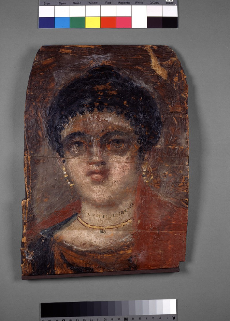 Mummy portrait of a woman (AN1911.354)