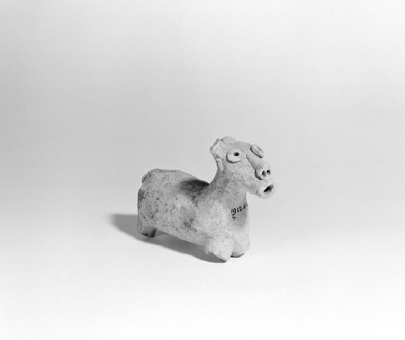 Animal figurine possibly of a bovine
