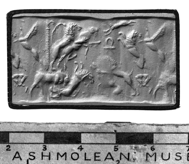 Cylinder seal and impression (AN1913.251)