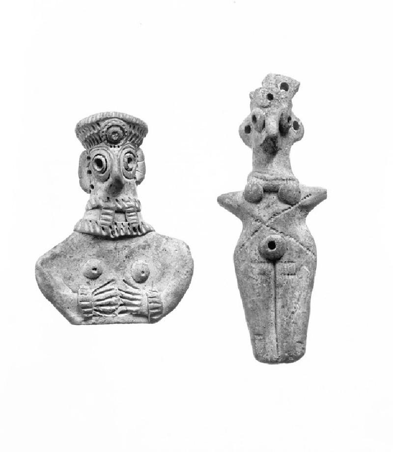 Female figurine of the goddess Astarte