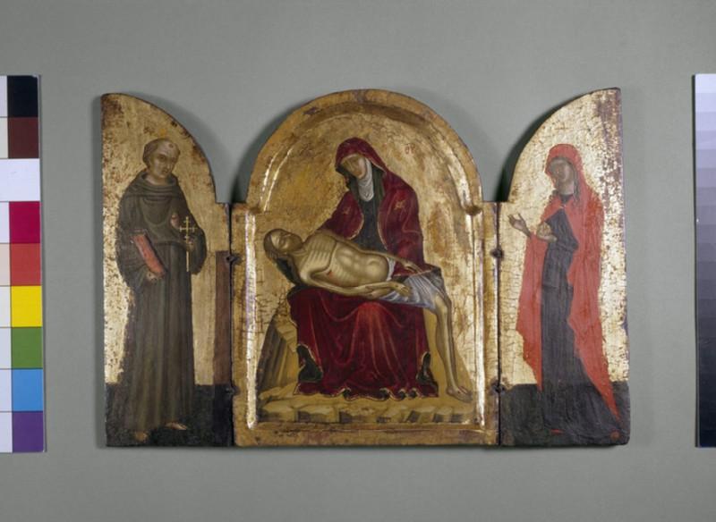 Icon triptych: Pieta (AN1915.180)