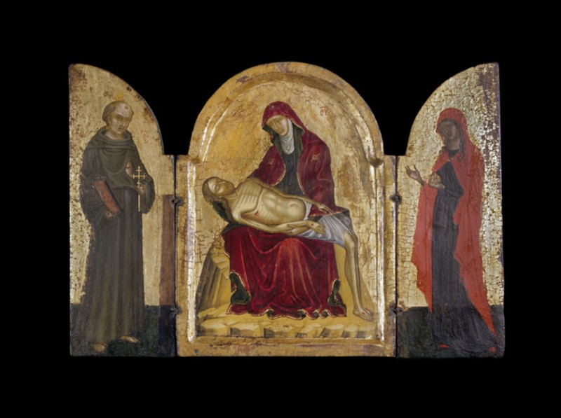 Icon triptych: Pieta (AN1915.180)