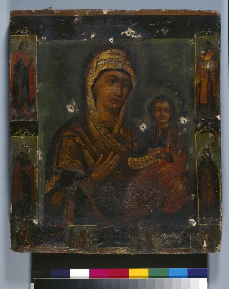 Icon of The Virgin Hodegetria and Child (AN1915.186)