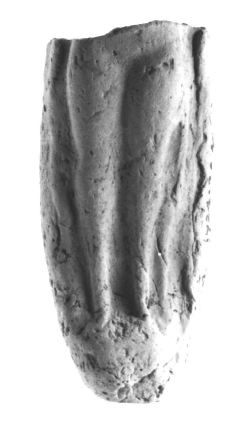 Plaque with a nude female figurine