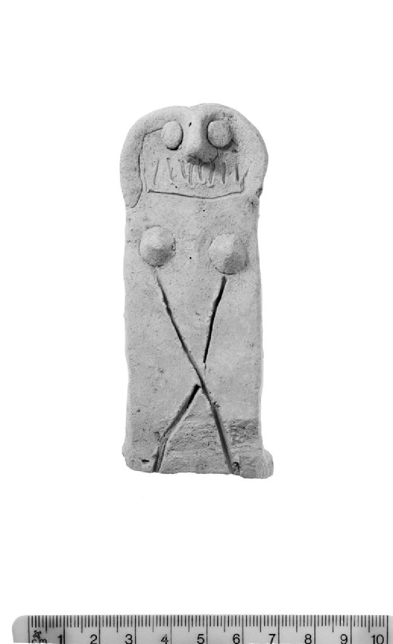 Anthropomorphic jar handle
