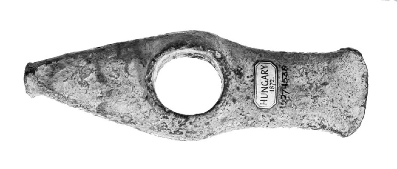 Copper shaft-hole axe-adze
