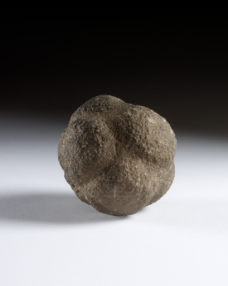 Carved stone ball