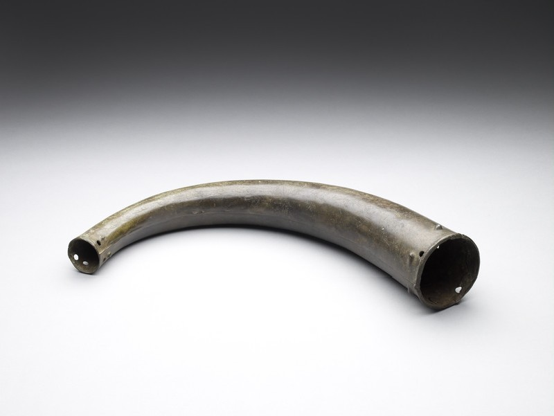 Bronze trumpet with four perforations (AN1927.2926)
