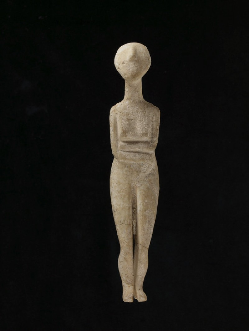 Cycladic figurine (Kapsala type)