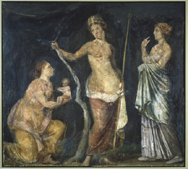 Fresco of the birth of Adonis (AN1930.751)