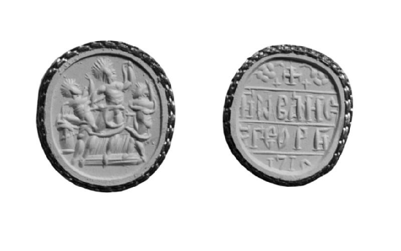 Intaglio gem, Laokoon (AN1941.530)
