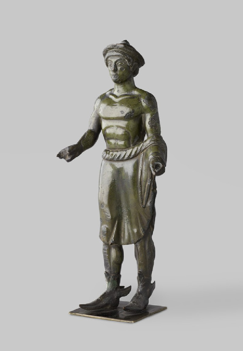 Etruscan bronze figurine of Turms, or Hermes (AN1943.38)