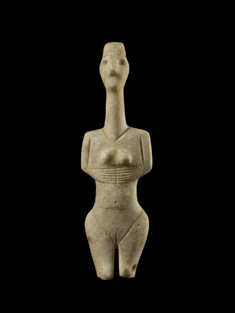 Cycladic figurine (Plastiras type)