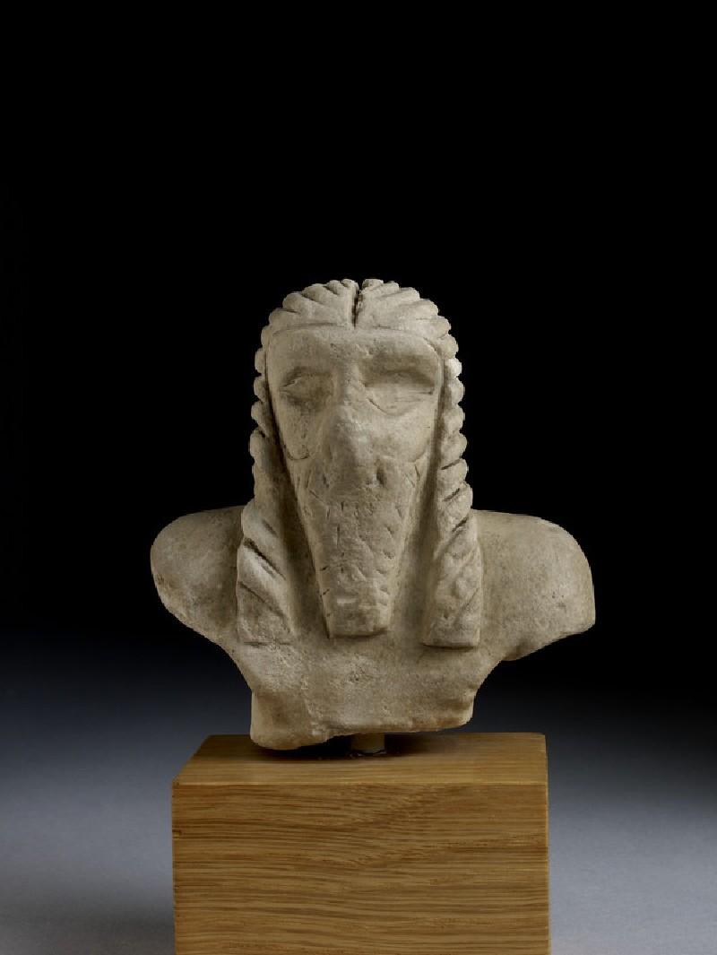 Figurine of a torso of a man