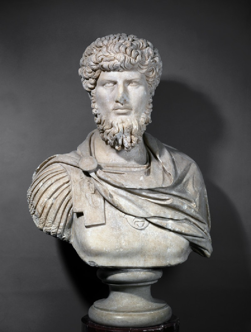 Portrait bust of Lucius Verus (AN1947.277)