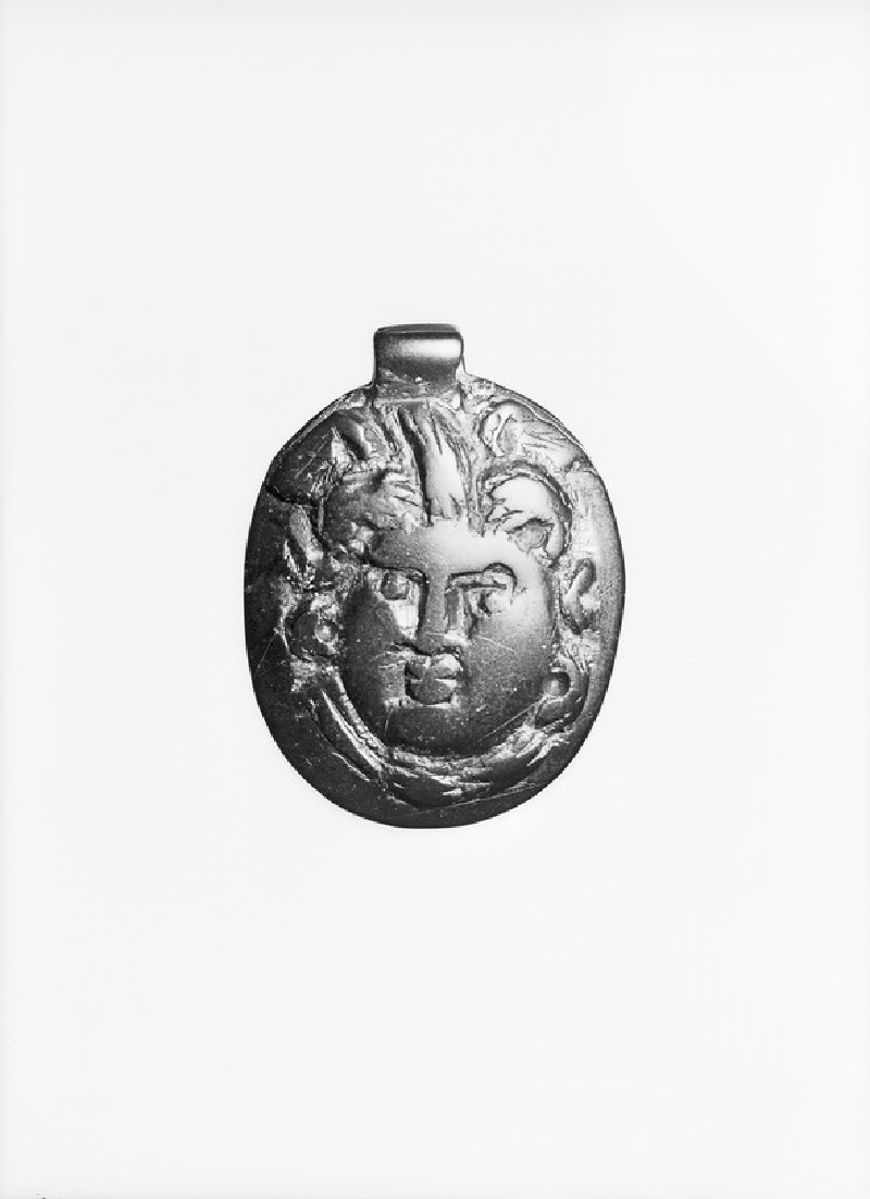 Jet pendant of Medusa (AN1948.72)