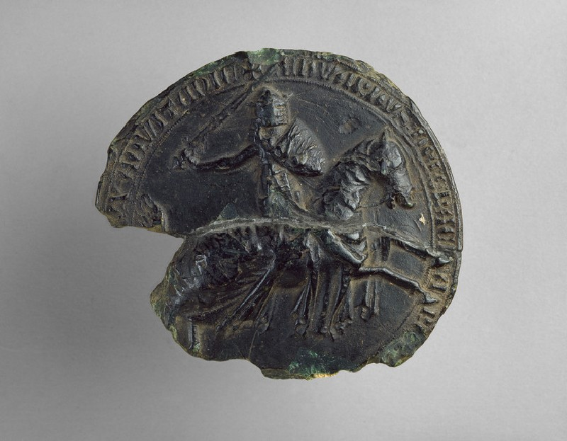 Seal of King Edward III (AN1954.673)