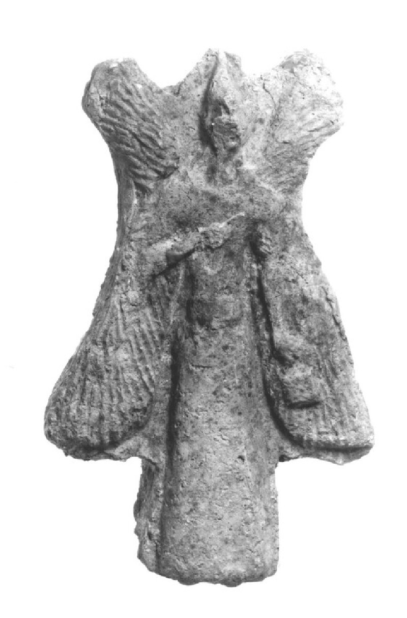 Figurine of a four-winged, bird-headed Apkalle (AN1954.729)