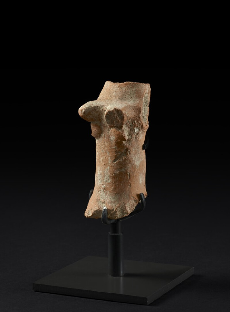 Fragmentary female pillar figurine, perhaps representing the goddess Asherah