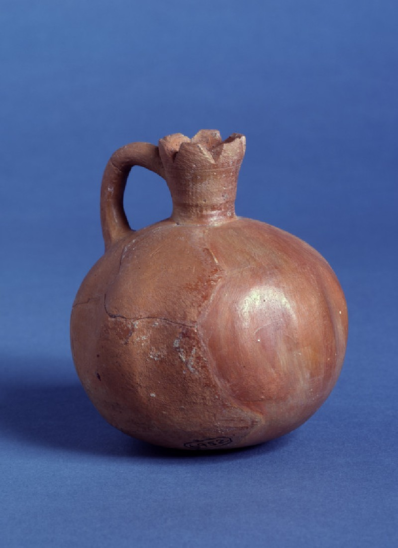 Fine burnished juglet in shape of a pomegranate (AN1968.1371)