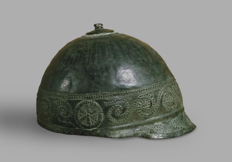 Italo-Celtic bronze helmet (AN1971.914)