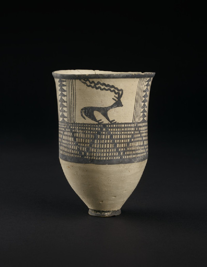 Vase with 'skidding goat' motif