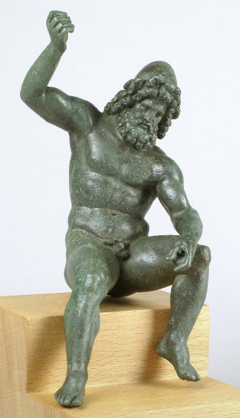 Bronze statuette of Vulcan at work on his forge (AN1982.1121)