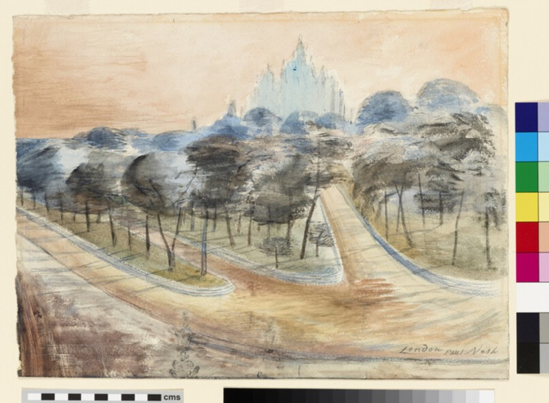 Landscape at Marble Arch