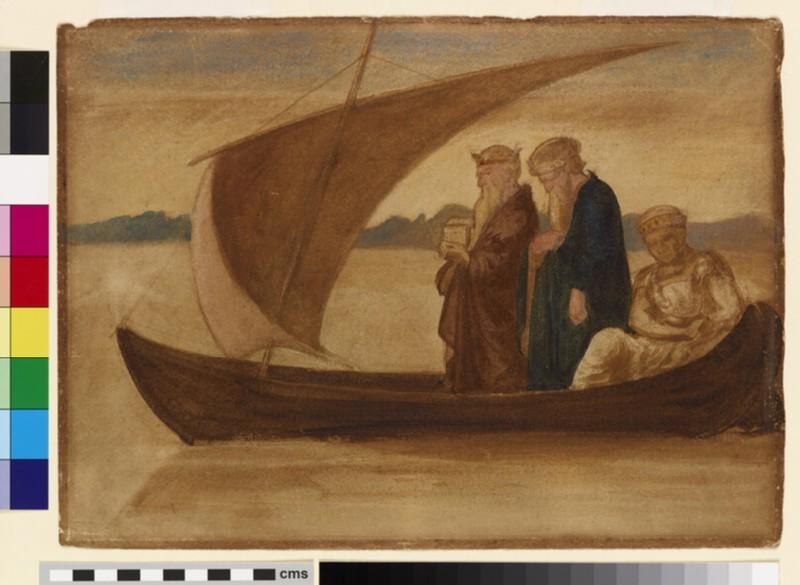 Three Magi in a Sailing Boat (WA1995.197)