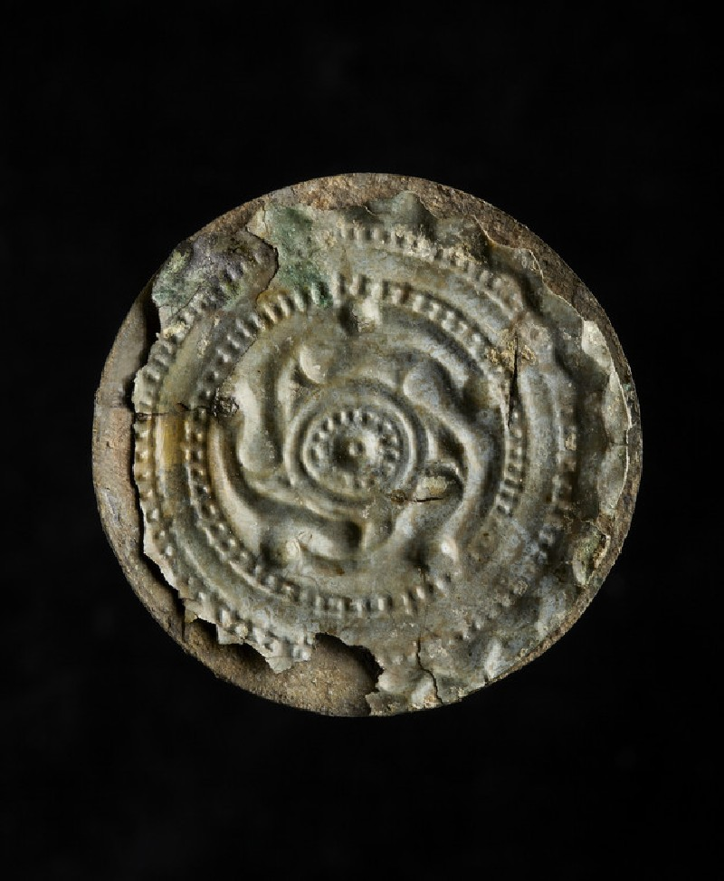 Disc brooch with a concentric ring and radiating spokes (AN2005.67)