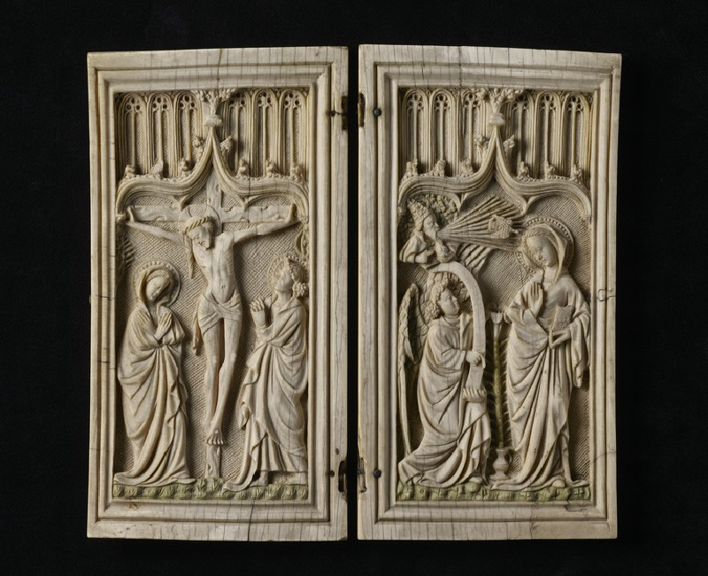 Diptych with the Crucifixion and the Annunciation (AN2008.21)