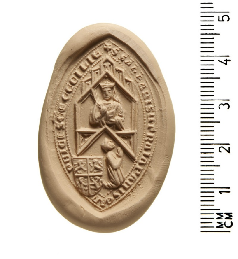 Seal of Sabas of the Frangipani, Canon of St Cecilia, Rome (AN2009.65)
