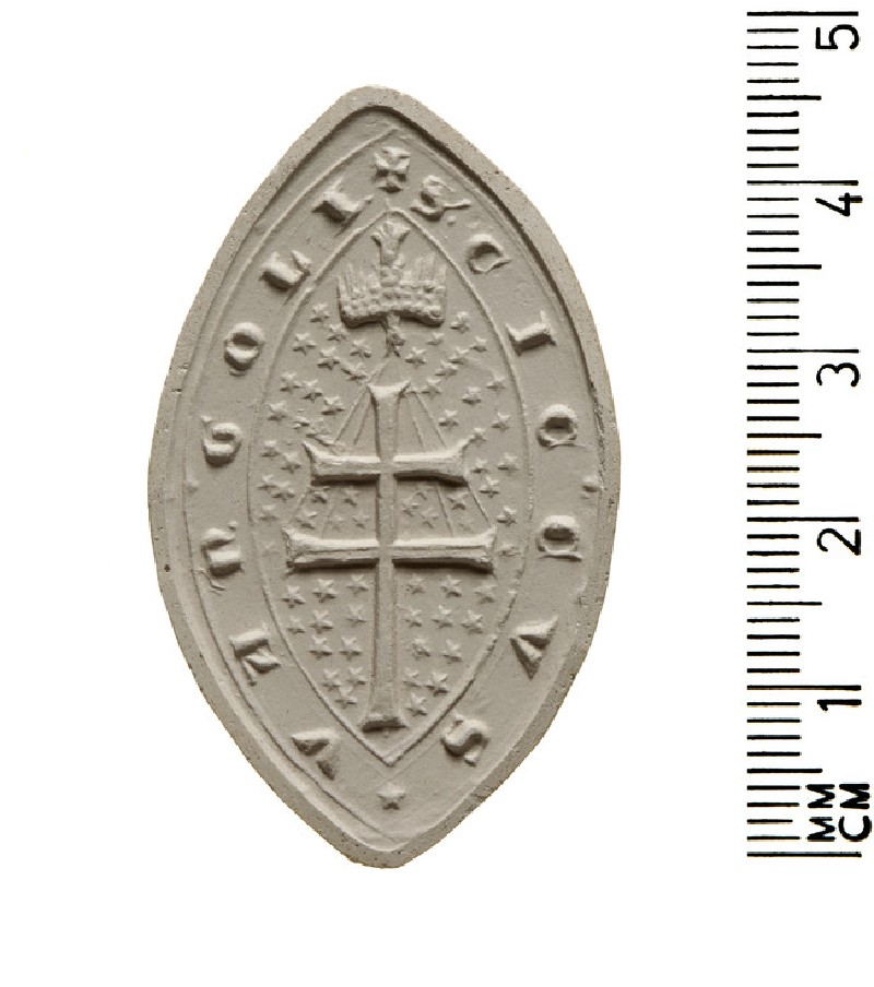 Seal of Cicco Vangoli, Hospital of Santo Spirito, Rome (AN2009.66)