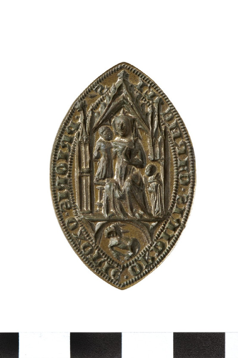 Seal of the Prior of the Order of the Carmelites, Oxford
